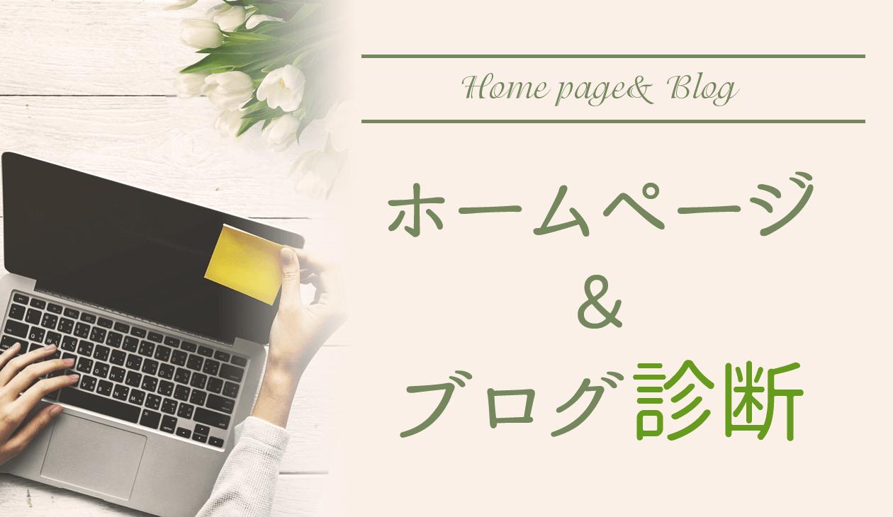 ホームページ&ブログ診断